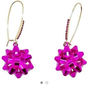Betsey Johnson | women's bow earrings